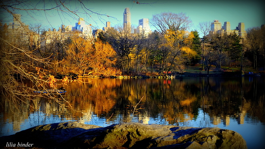 Central Park Lake 1 | LENS MODEL NOT SET <br> Click image for more details, Click <b>X</b> on top right of image to close